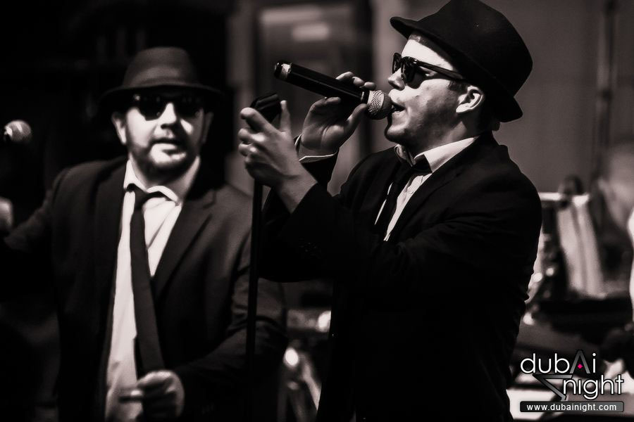 A tribute to The Blues Brothers, from The All New Blues and Soul Revue. UK, Europe, Worldwide.